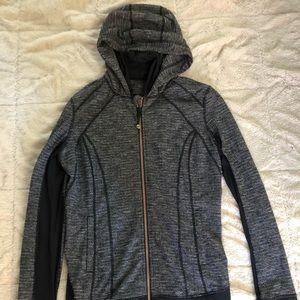 Lululemon hooded jacket size 10